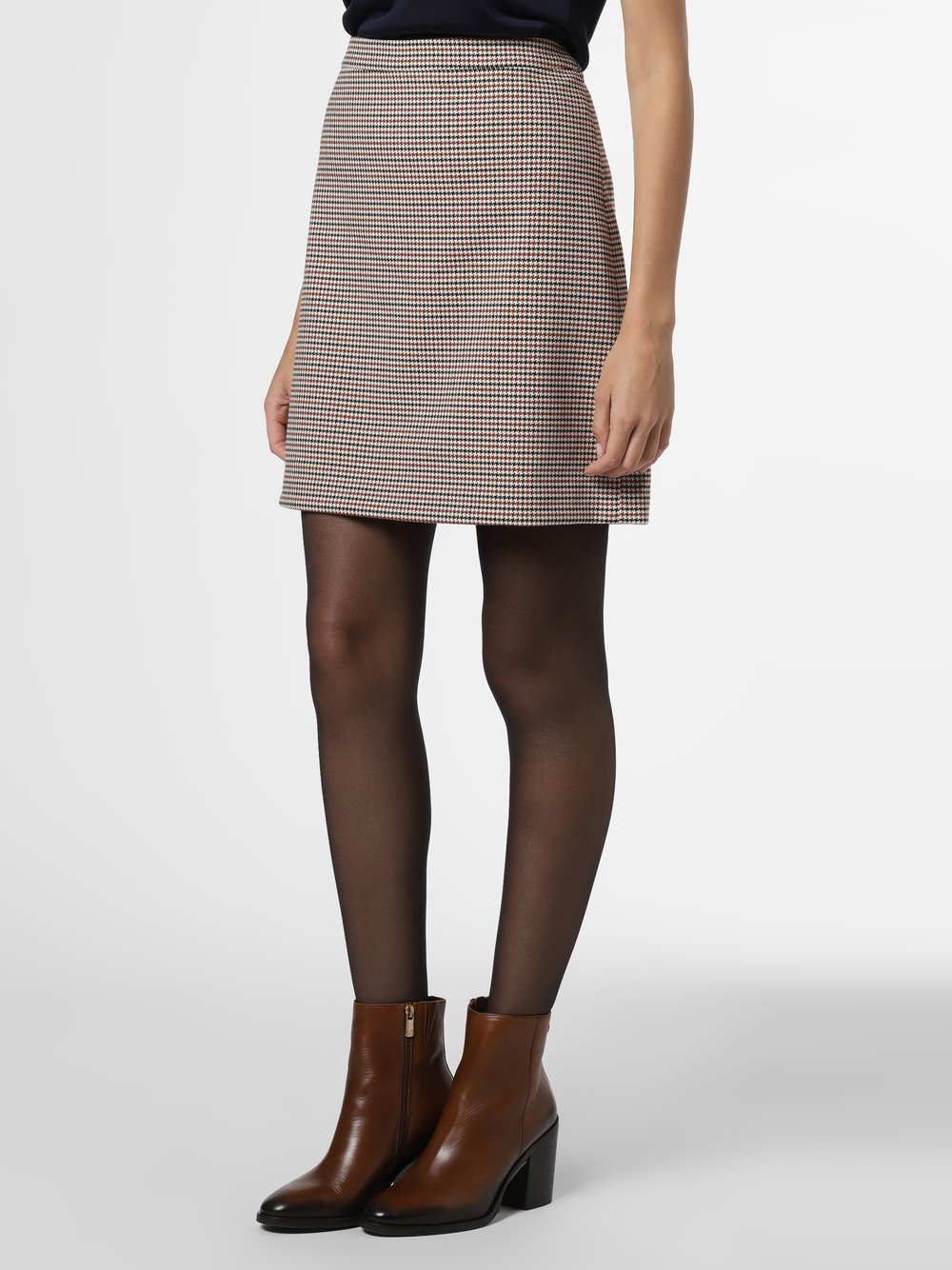Esprit Collection – Spódnica damska, beżowy Van Graaf 489594-0001-00440