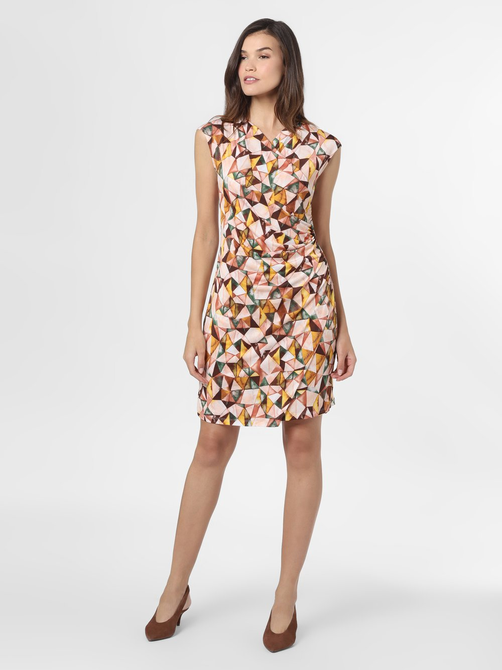 Cartoon Daydream – Sukienka damska, pomarańczowy Van Graaf 489679-0001-00380