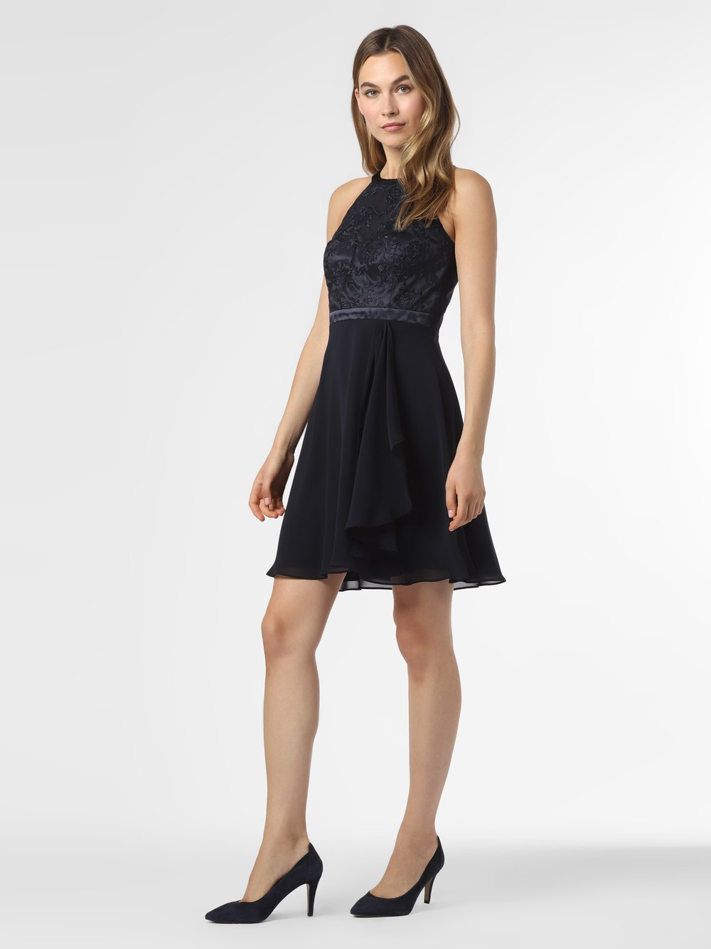 VM – Sukienka damska, niebieski Van Graaf 489705-0002-00320