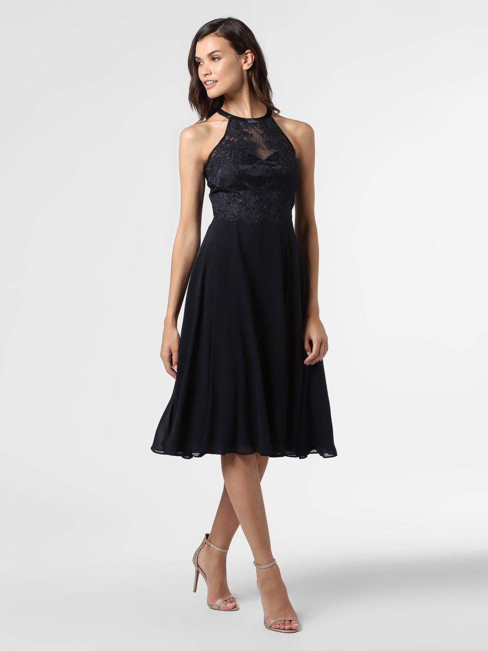 VM – Damska sukienka wieczorowa, niebieski Van Graaf 489710-0001-00400