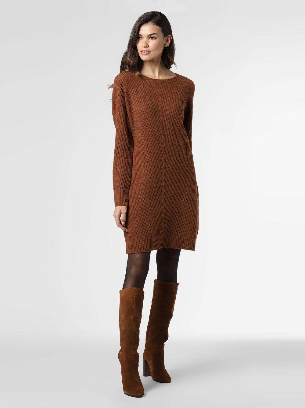 s.Oliver - Sukienka damska, brązowy