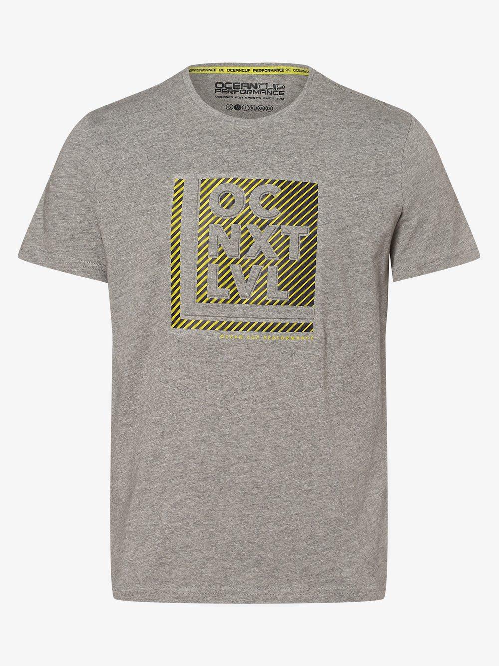 Ocean Cup - T-shirt męski, szary
