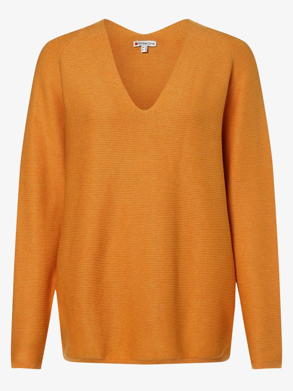 Street One - Sweter damski, brązowy