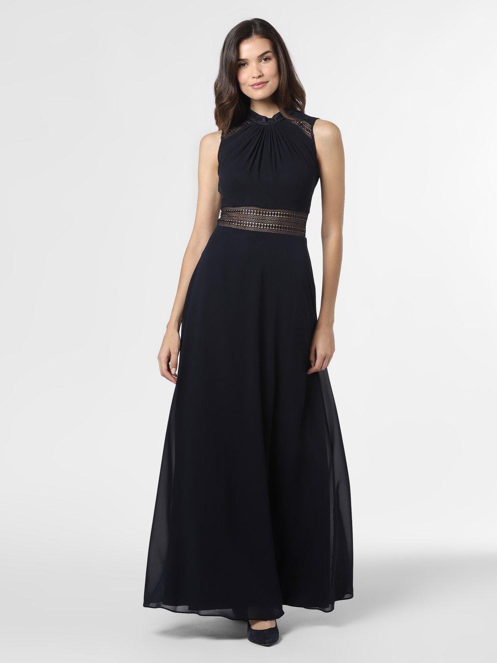 VM – Damska sukienka wieczorowa, niebieski Van Graaf 490412-0001-00400