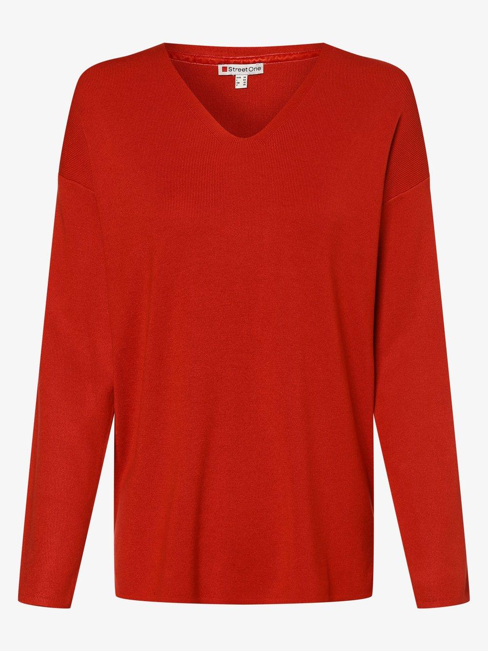 Street One - Sweter damski, czerwony