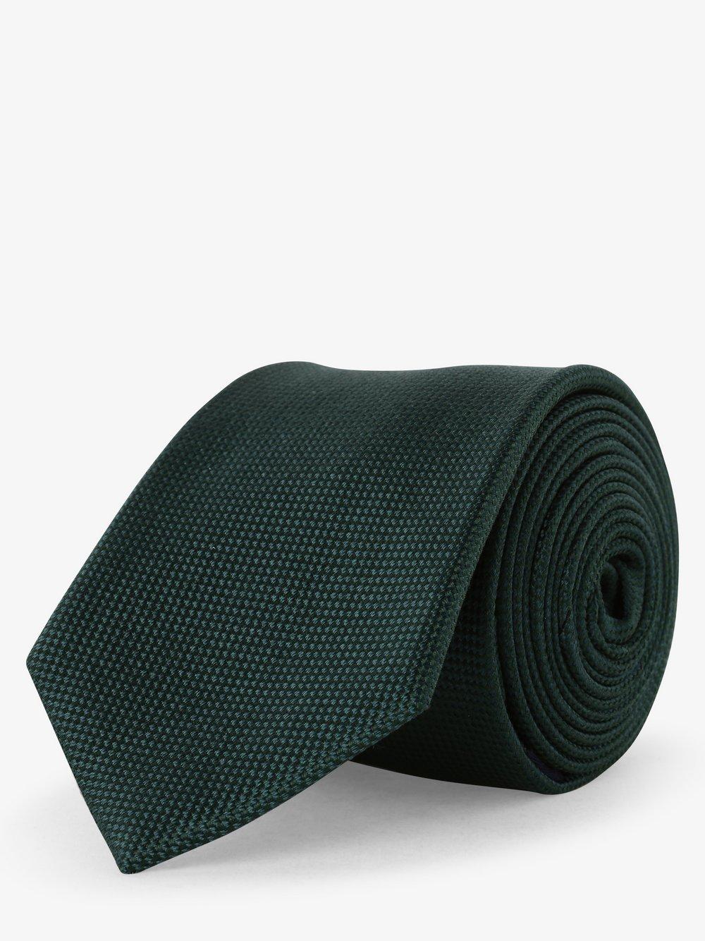 Mc Earl – Krawat jedwabny męski, zielony Van Graaf 490590-0001-00000