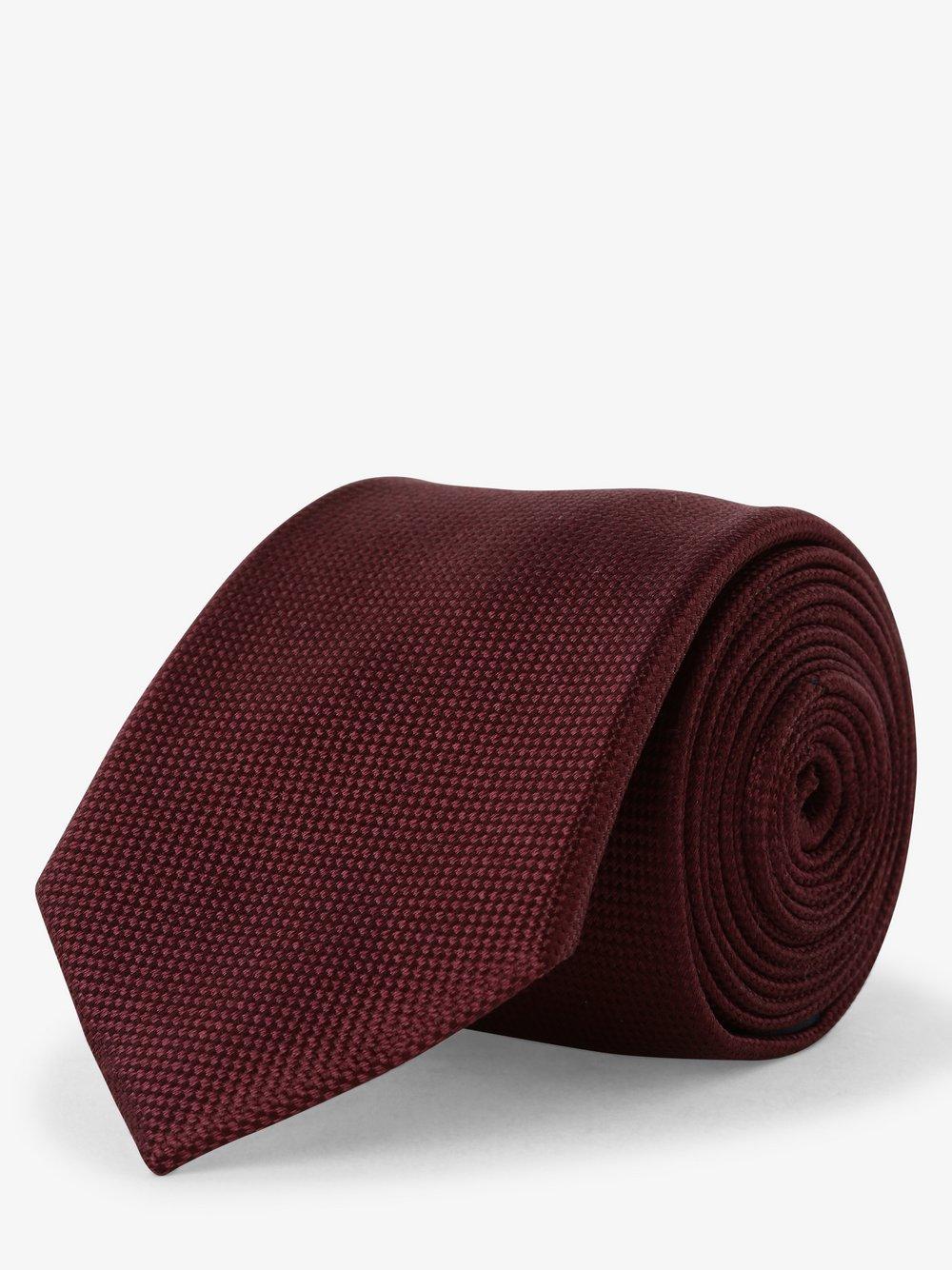 Mc Earl – Krawat jedwabny męski, czerwony Van Graaf 490591-0002-00000