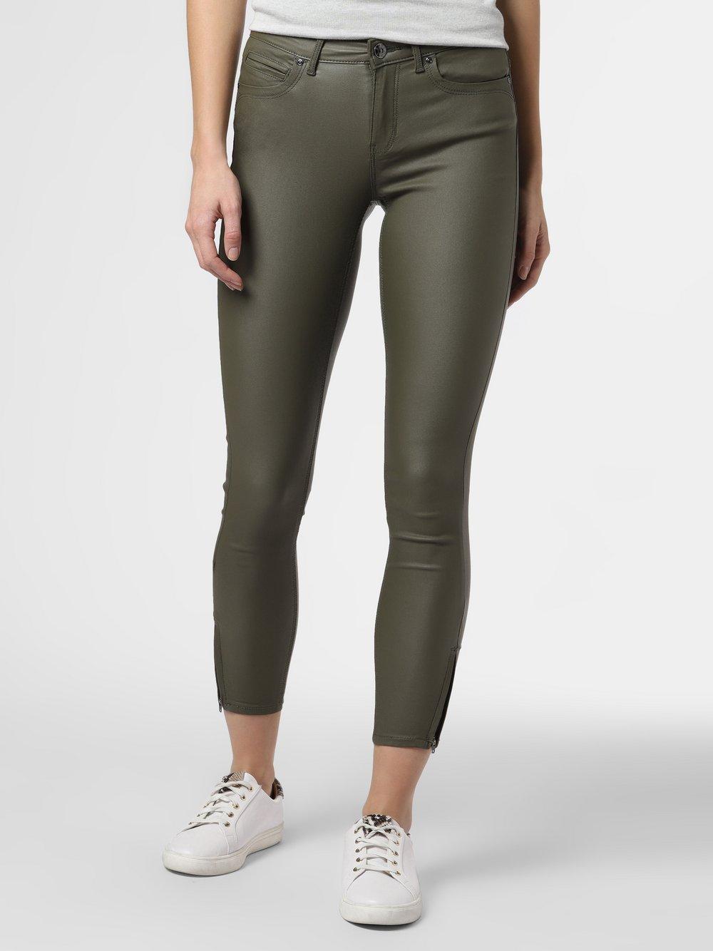 ONLY - Spodnie damskie – ONLKendell, zielony