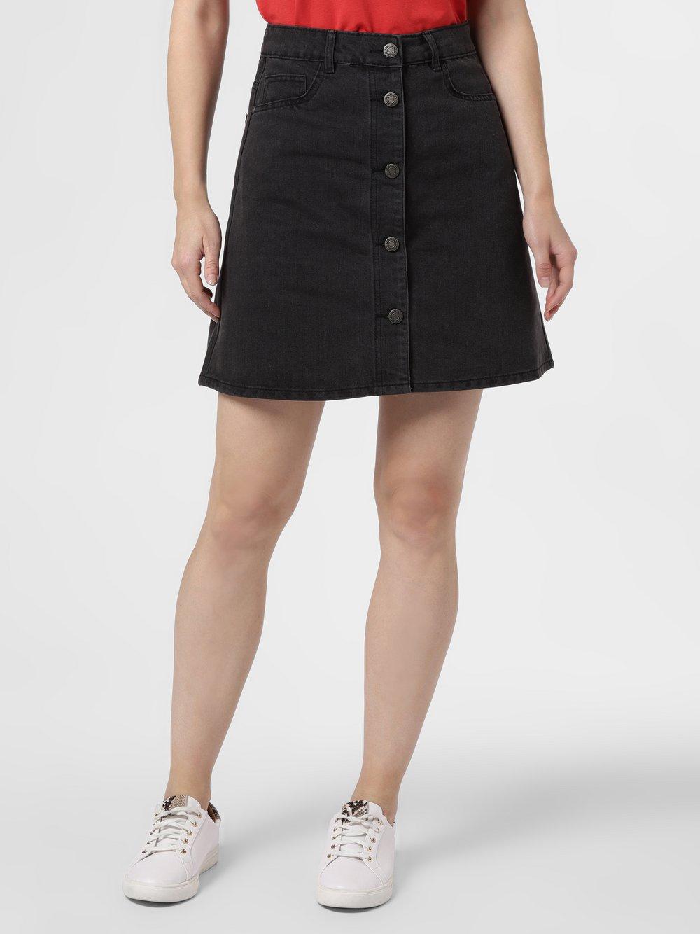 Noisy May - Jeansowa spódnica damska – Sunny, czarny