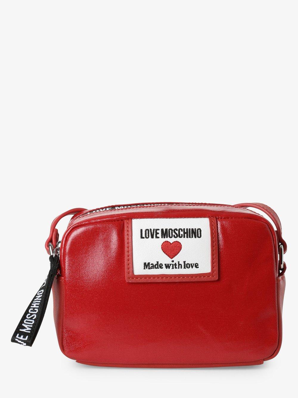 Love Moschino - Damska torebka na ramię, czerwony
