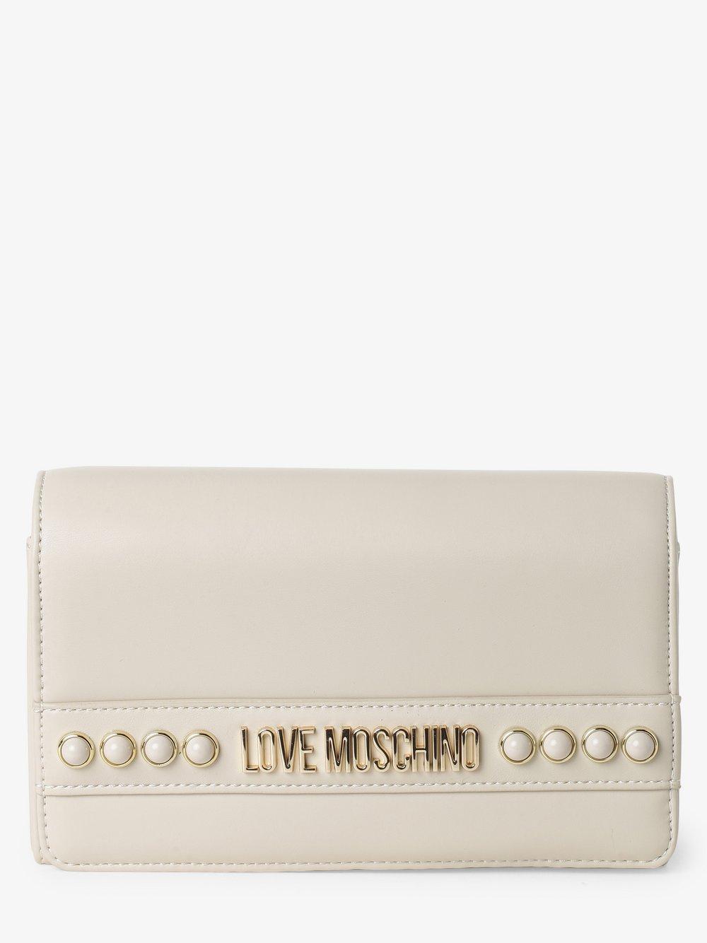 Love Moschino - Damska torebka na ramię, beżowy