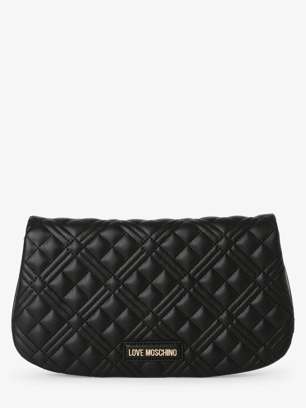 Love Moschino - Damska torebka na ramię, czarny