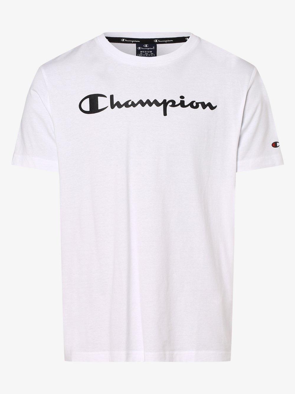 Champion - T-shirt męski, biały