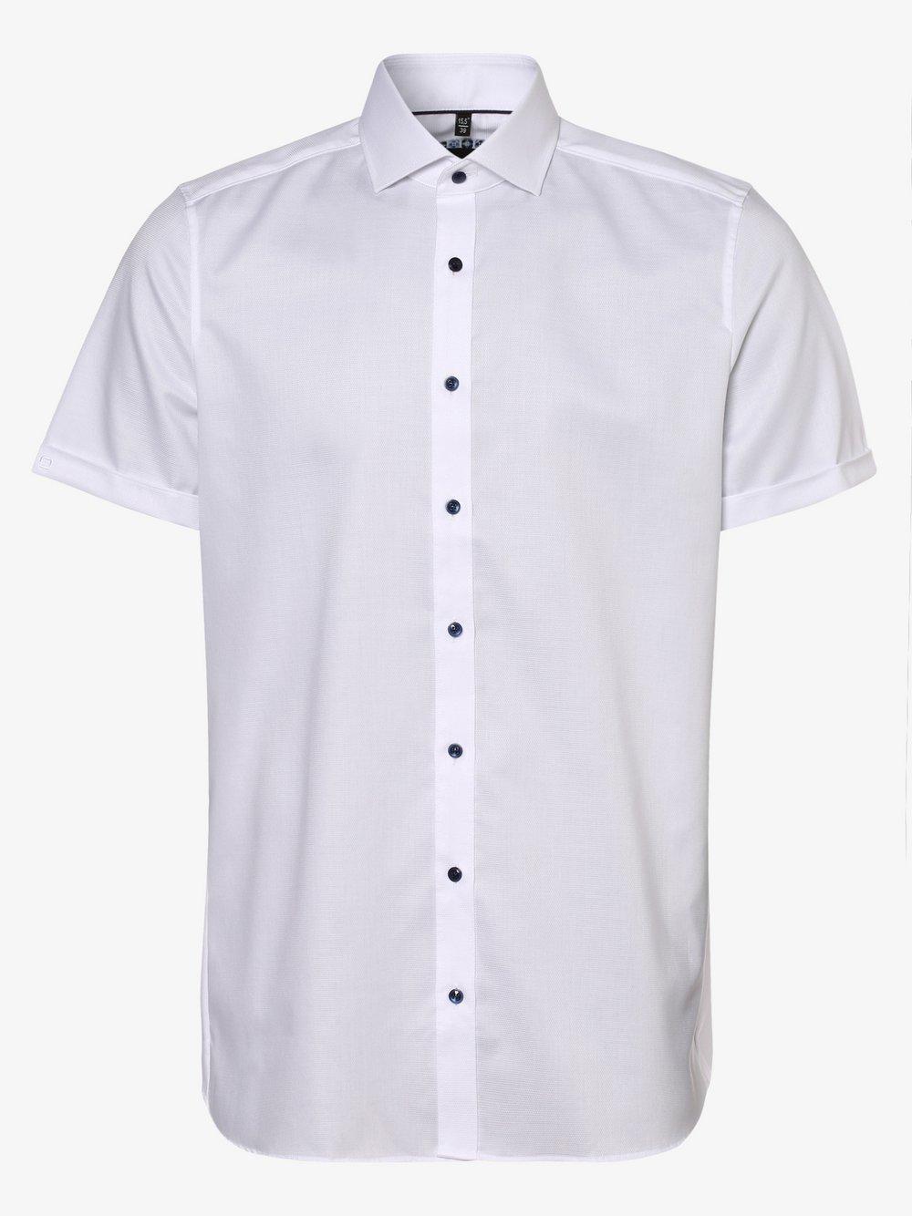 Olymp Level Five - Koszula męska łatwa w prasowaniu, biały