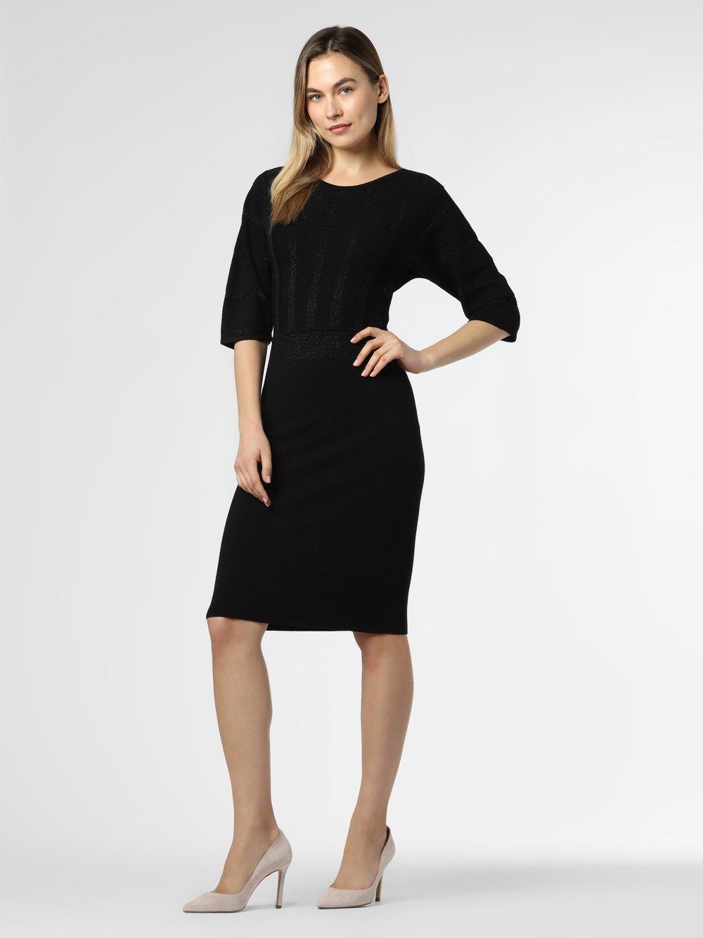 BOSS Casual - Sukienka damska – C_Fayuria, czarny