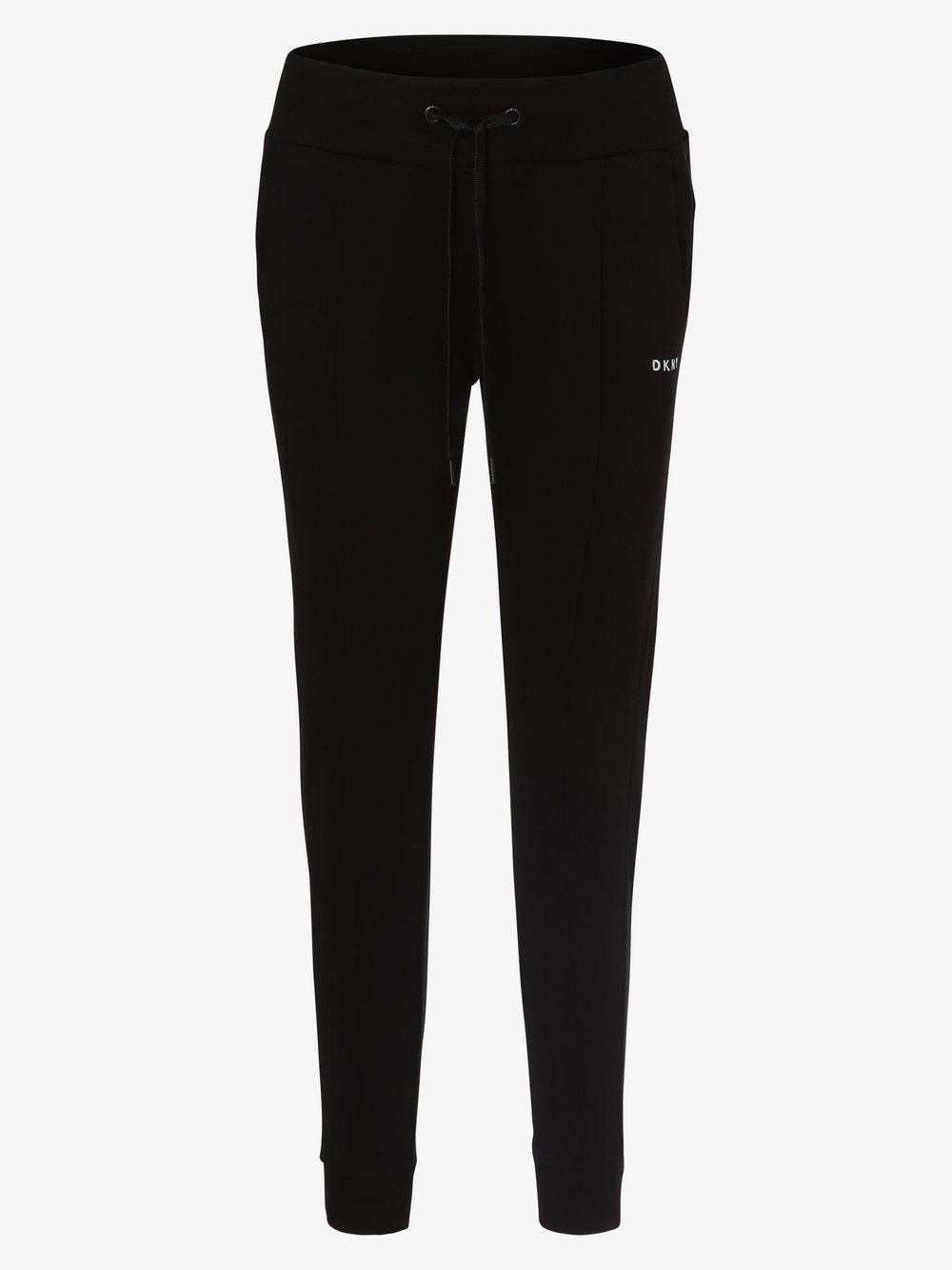 DKNY - Damskie spodnie dresowe, czarny