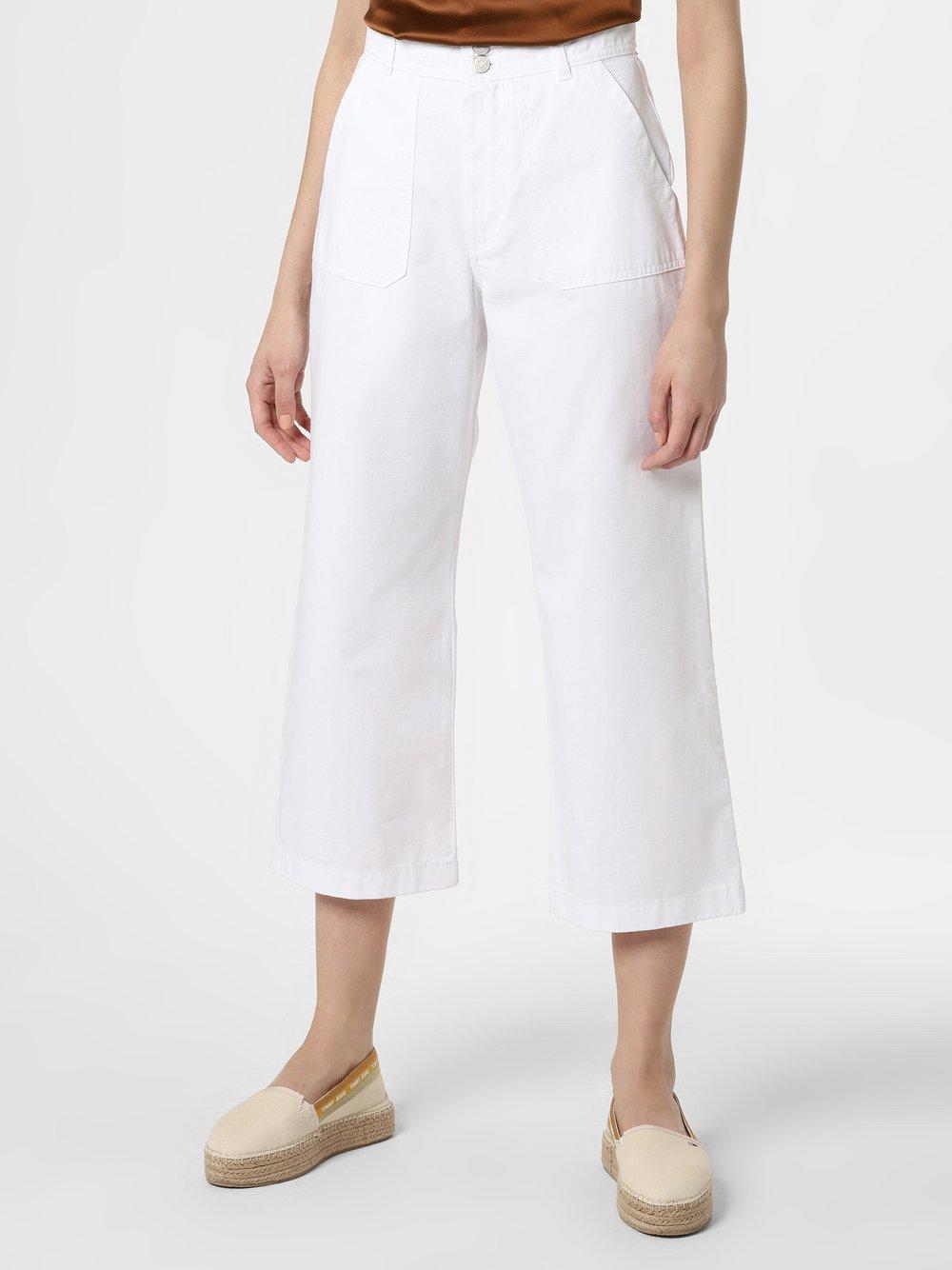 Tommy Jeans - Spodnie damskie, biały