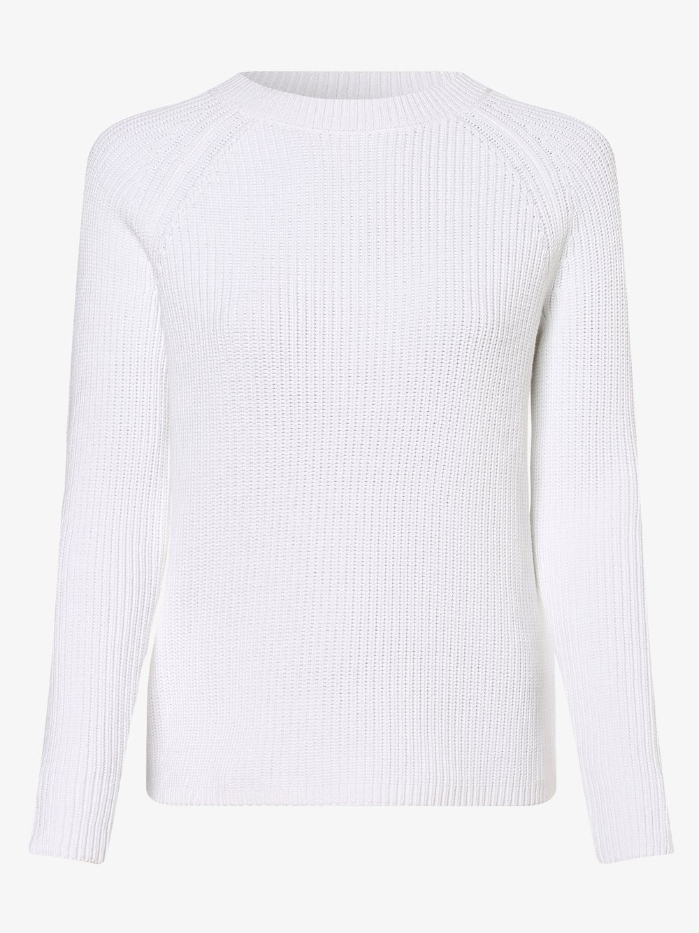 HUGO - Sweter damski, biały
