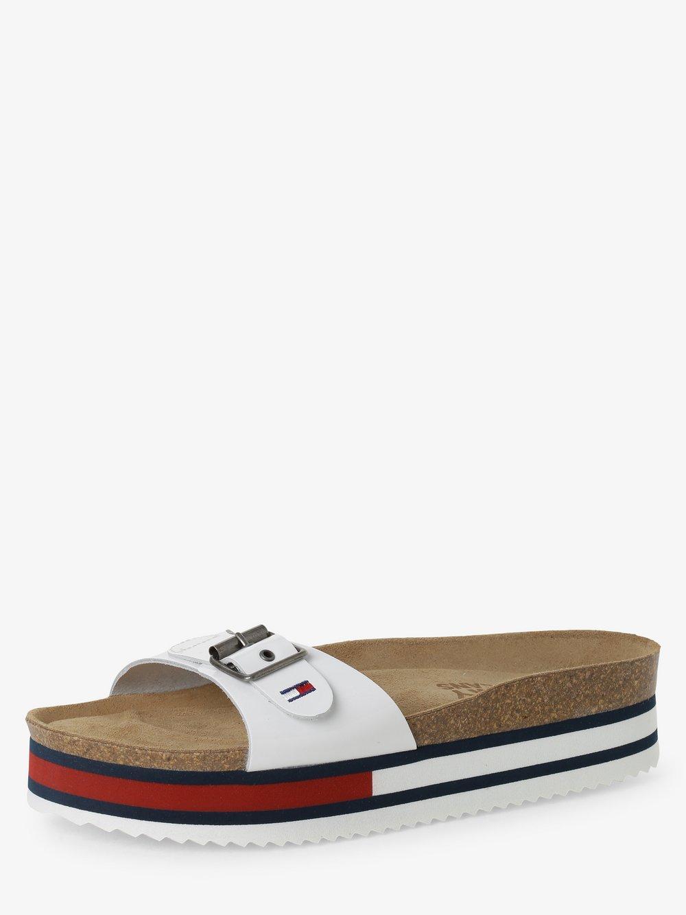Tommy Jeans - Sandały damskie, biały