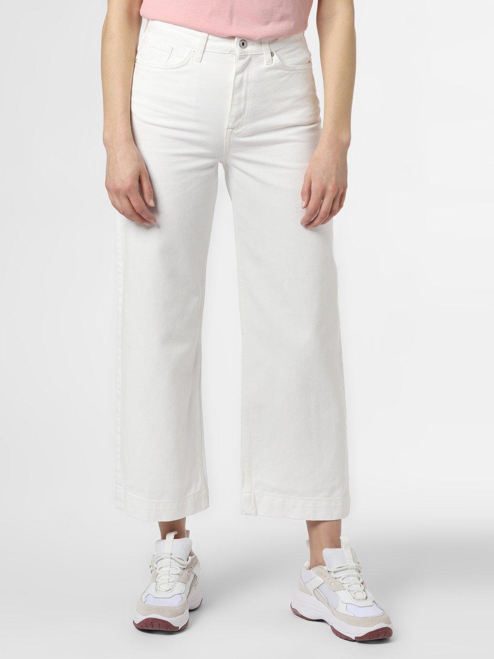 Gant - Jeansy damskie, biały