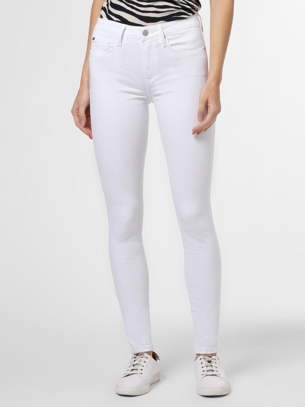 Tommy Hilfiger - Spodnie damskie – Como, biały