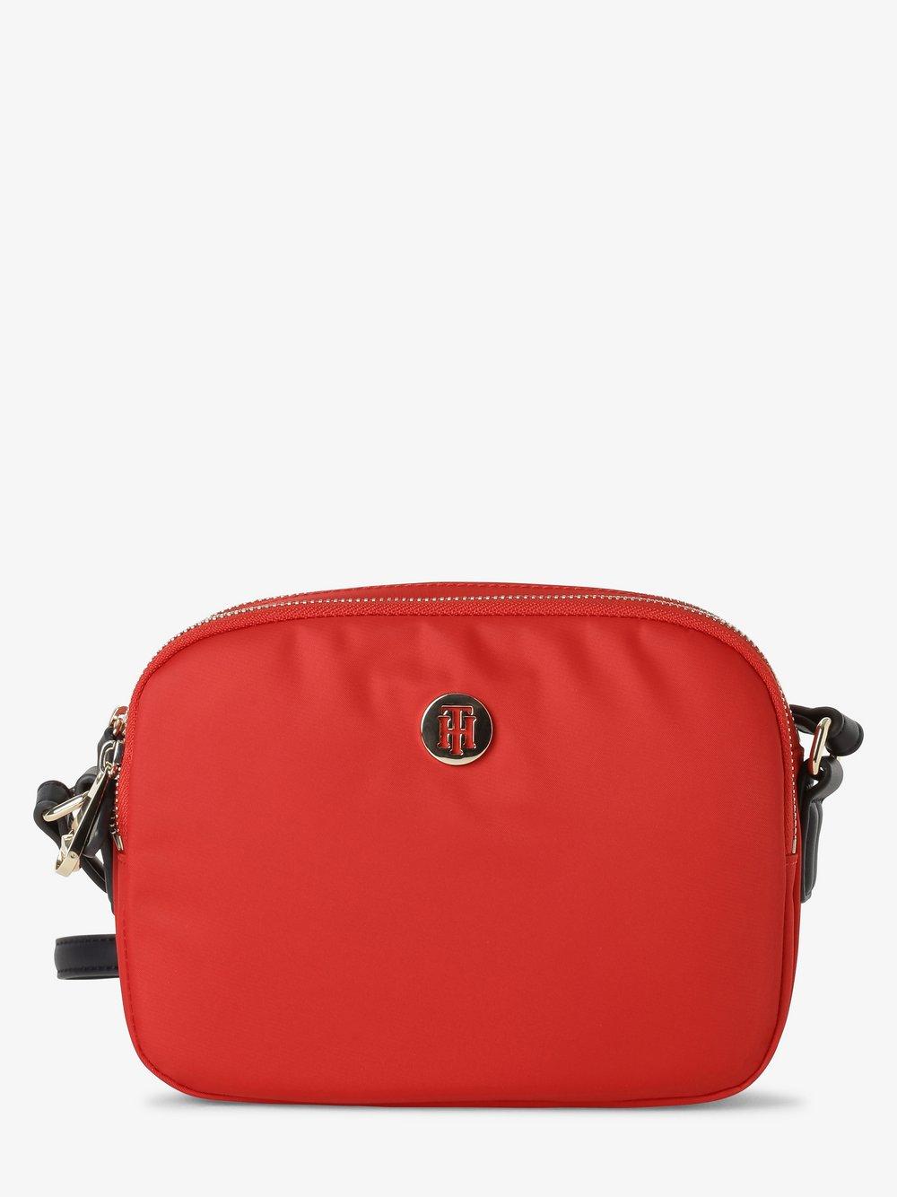 Tommy Hilfiger - Damska torebka na ramię, czerwony