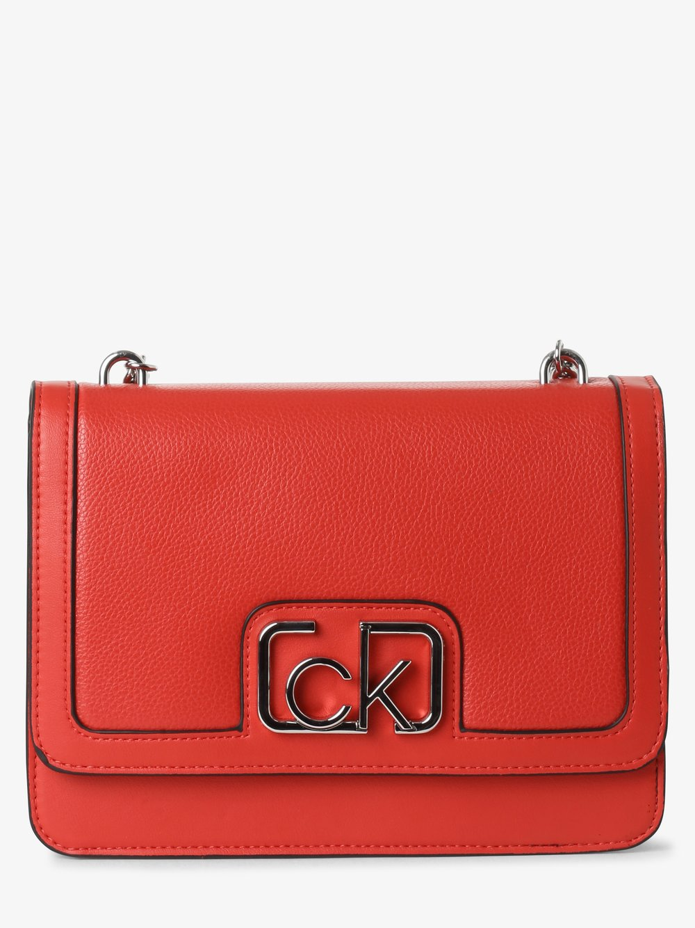 Calvin Klein - Damska torebka na ramię, czerwony