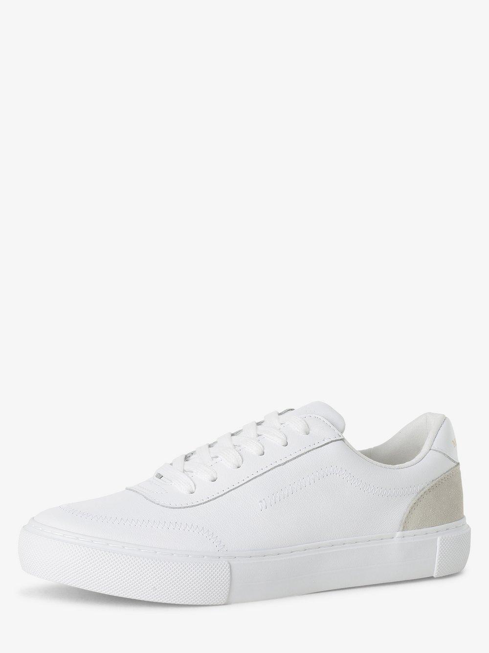 Marc O'Polo - Damskie tenisówki ze skóry, biały