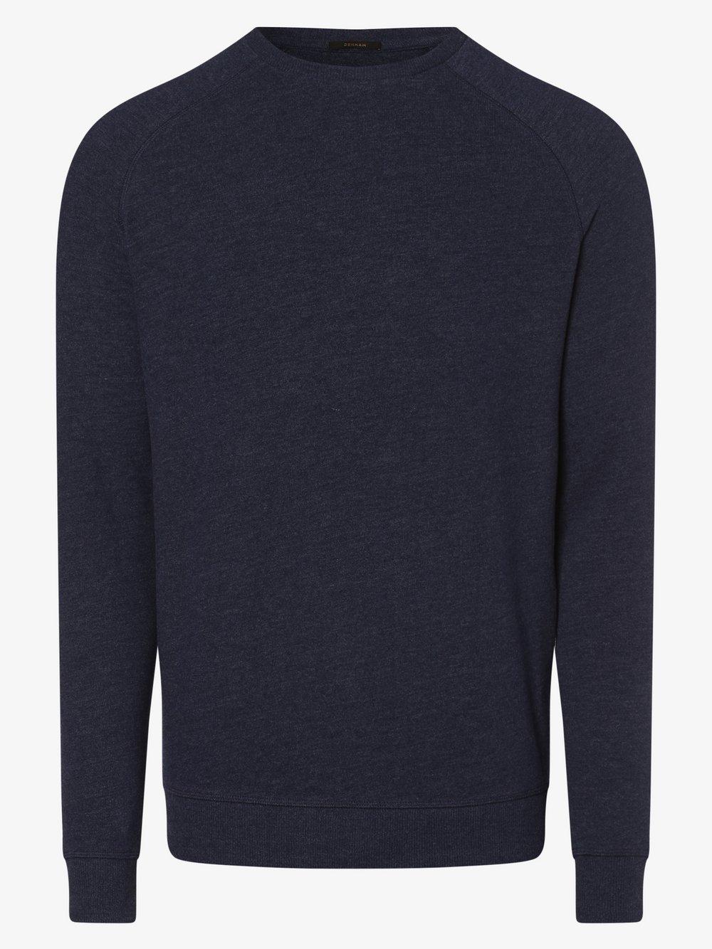 DENHAM – Sweter męski, zielony Van Graaf 494897-0001-09940