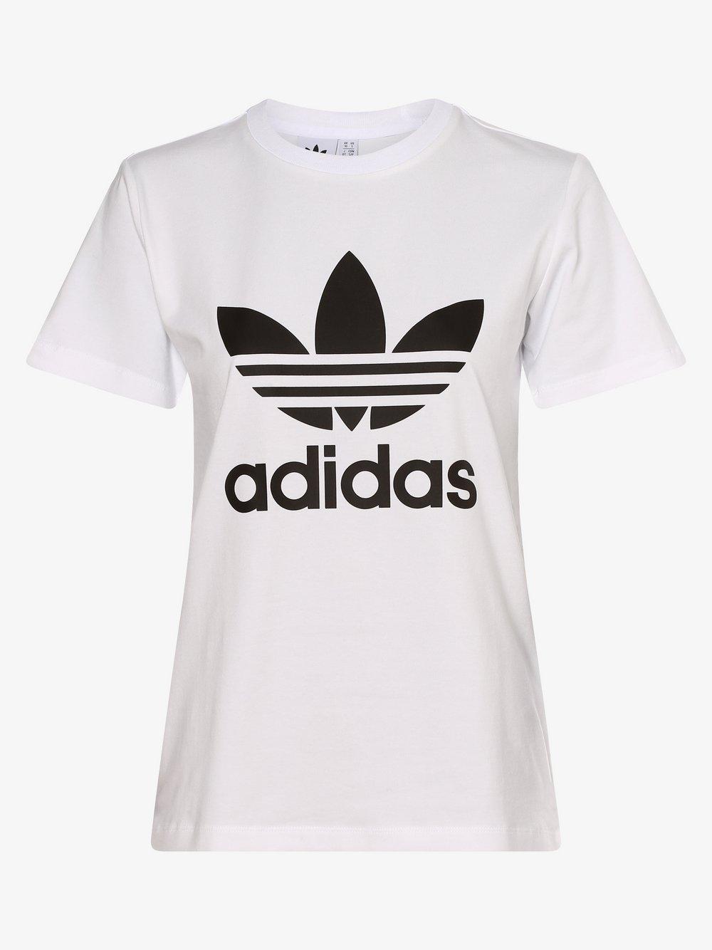 adidas Originals - T-shirt damski, biały