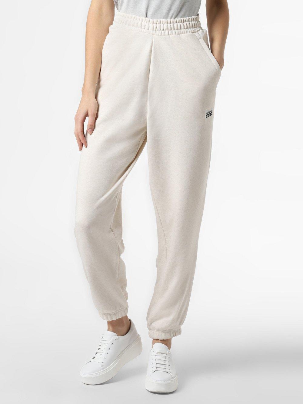 adidas Originals - Damskie spodnie dresowe, beżowy