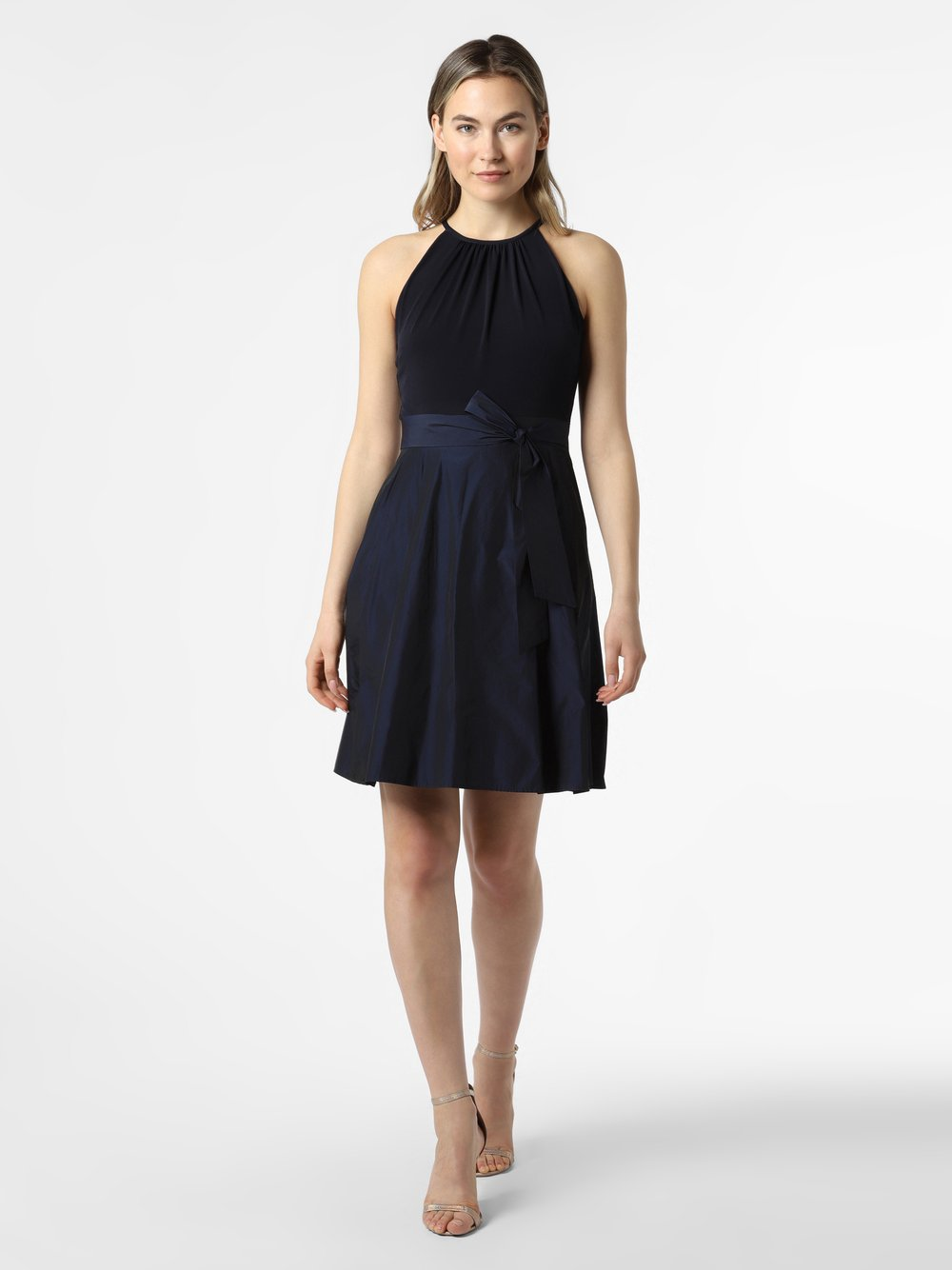 VM - Damska sukienka wieczorowa, niebieski
