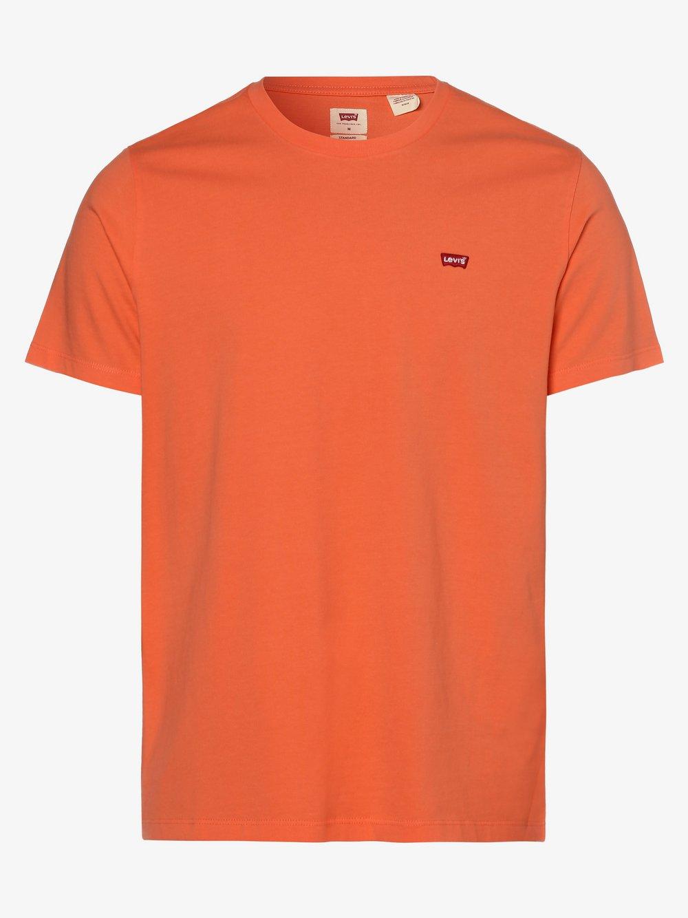 Levi's - T-shirt męski, czerwony