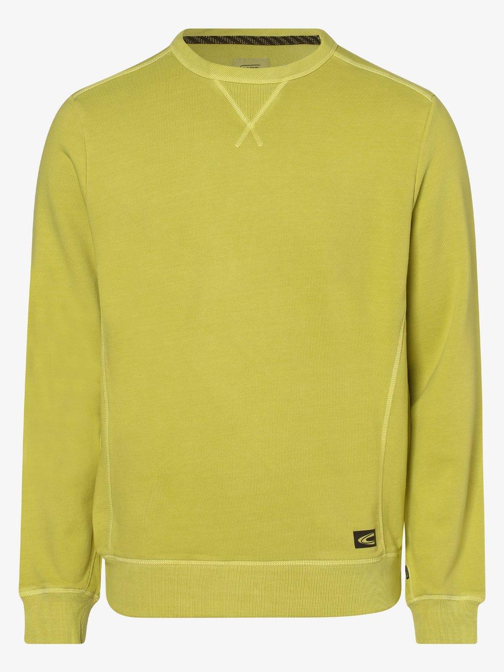Camel Active - Męska bluza nierozpinana, zielony