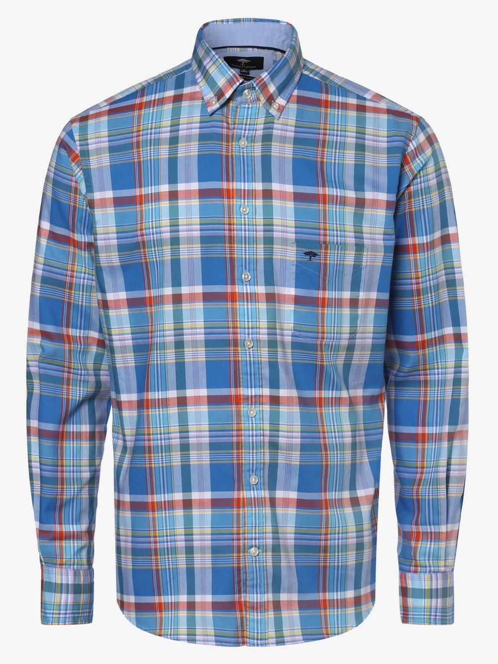 Fynch-Hatton - Koszula męska, niebieski