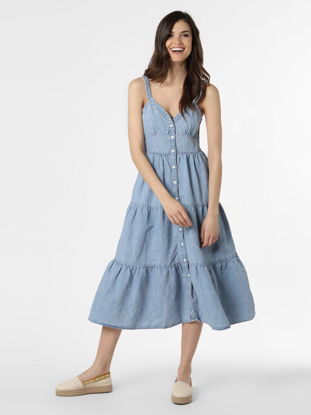 Levi's - Damska sukienka jeansowa, niebieski