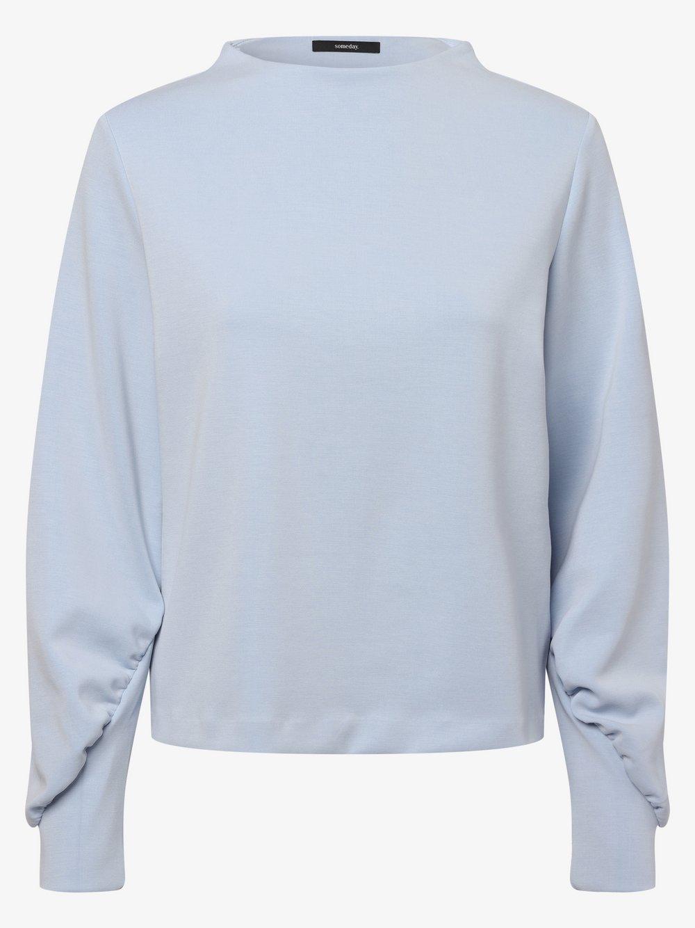 Someday - Damska bluza nierozpinana – Urmel Soft, niebieski