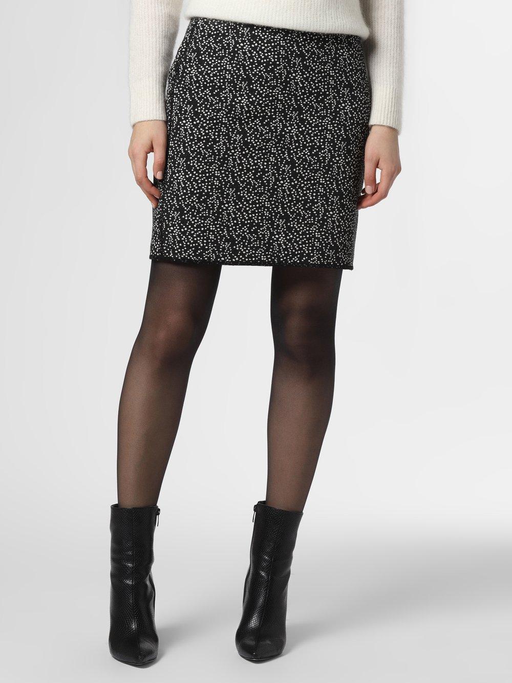 Opus - Spódnica damska – Ravenna Spotty, czarny