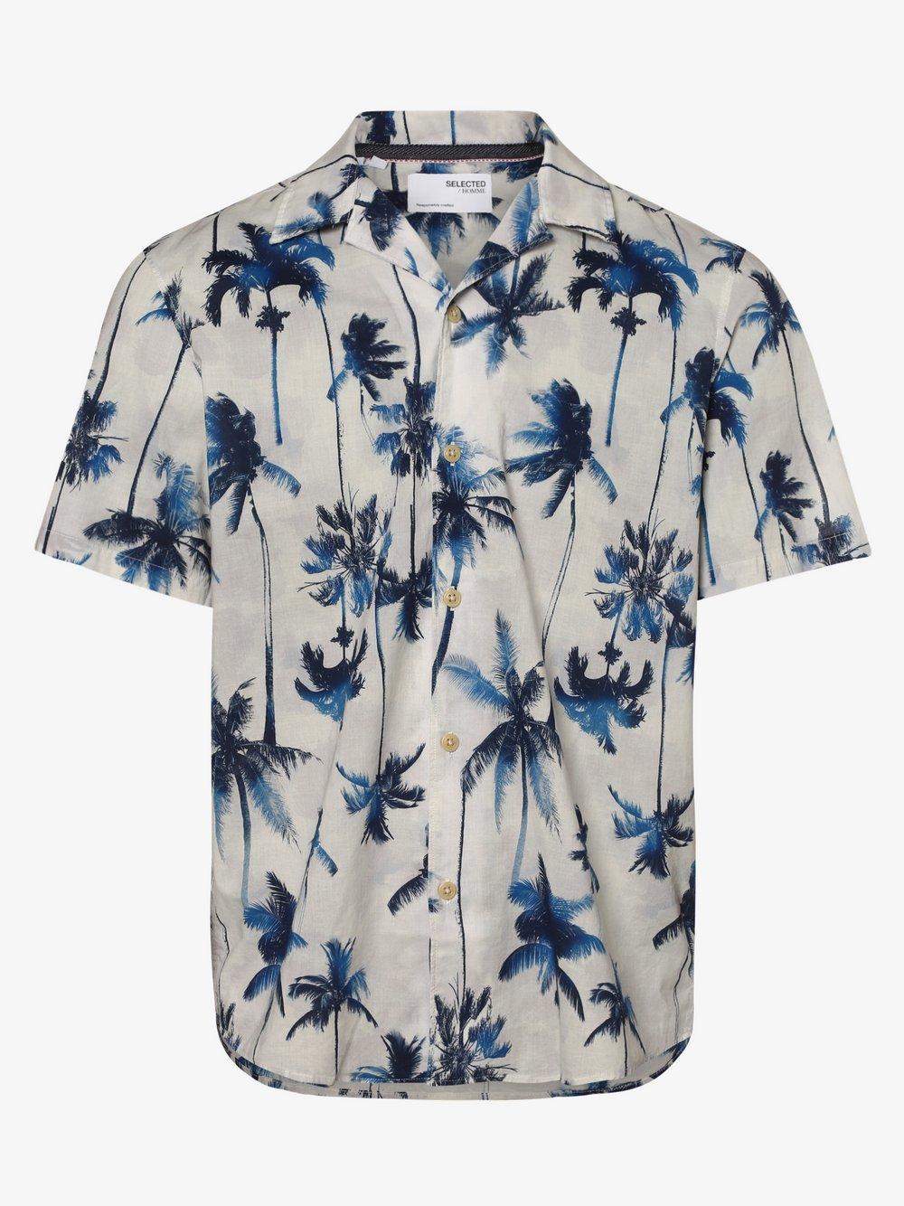Selected - Koszula męska – SLHRelaxsimon, beżowy