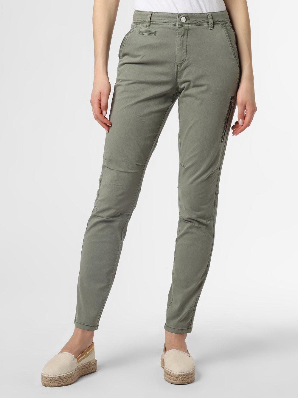 s.Oliver - Spodnie damskie, zielony