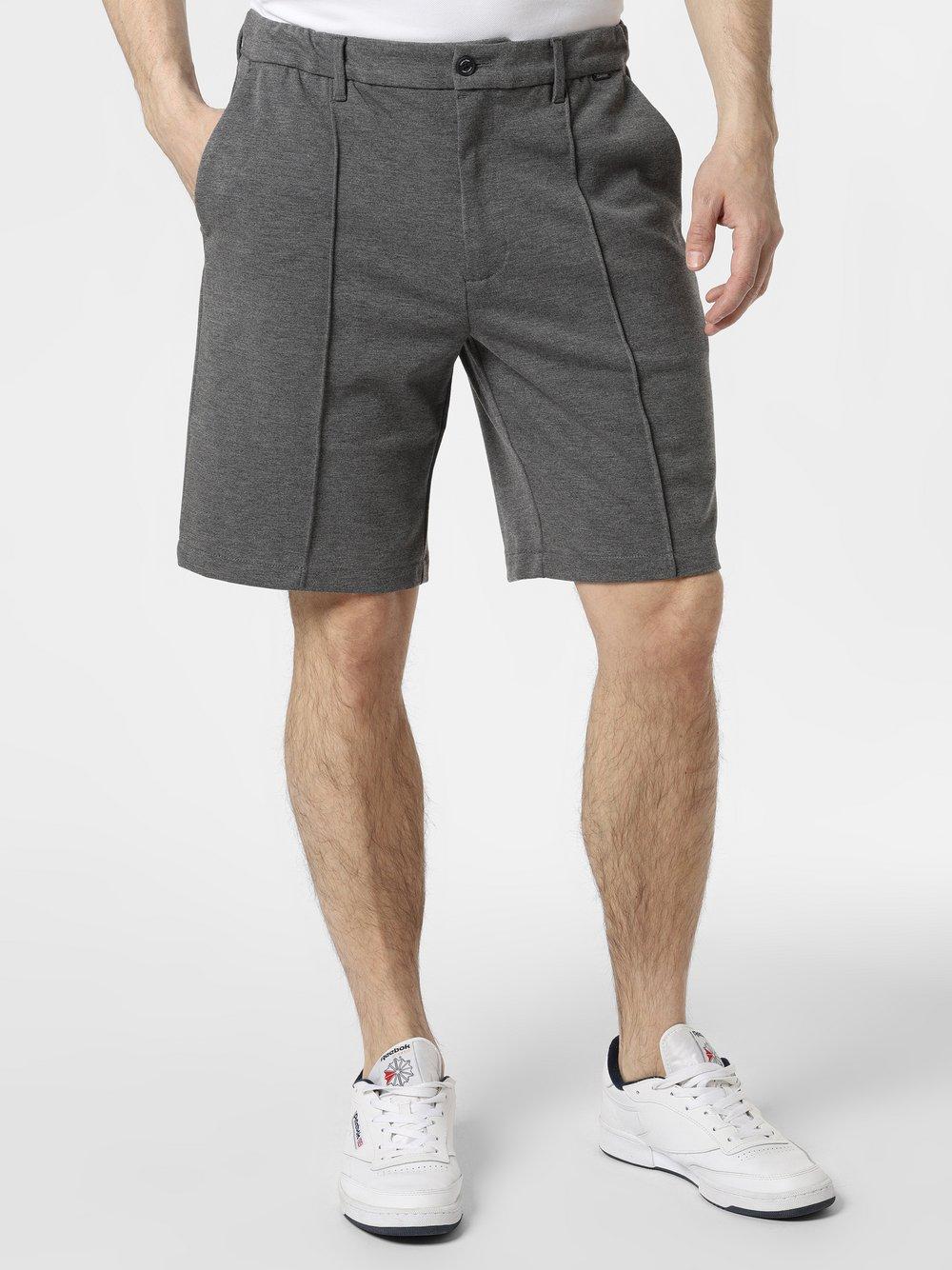Calvin Klein - Spodenki dresowe męskie, szary