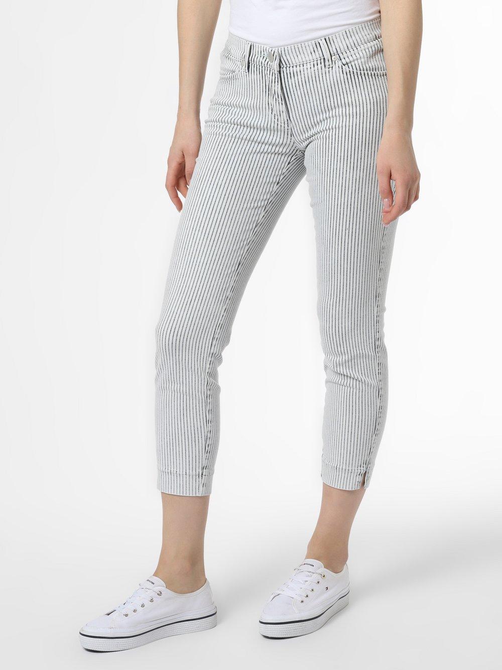 TONI - Spodnie damskie – Perfect Shape, niebieski