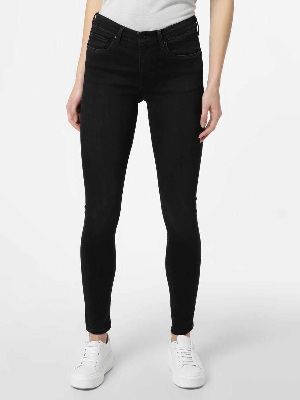 Pepe Jeans - Spodnie damskie – Zoe, czarny