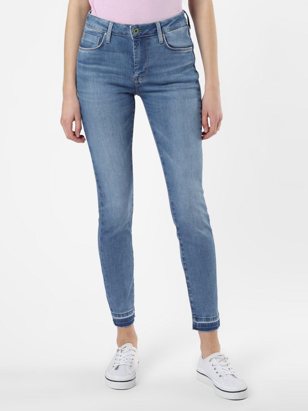 Pepe Jeans - Jeansy damskie – Regent, niebieski