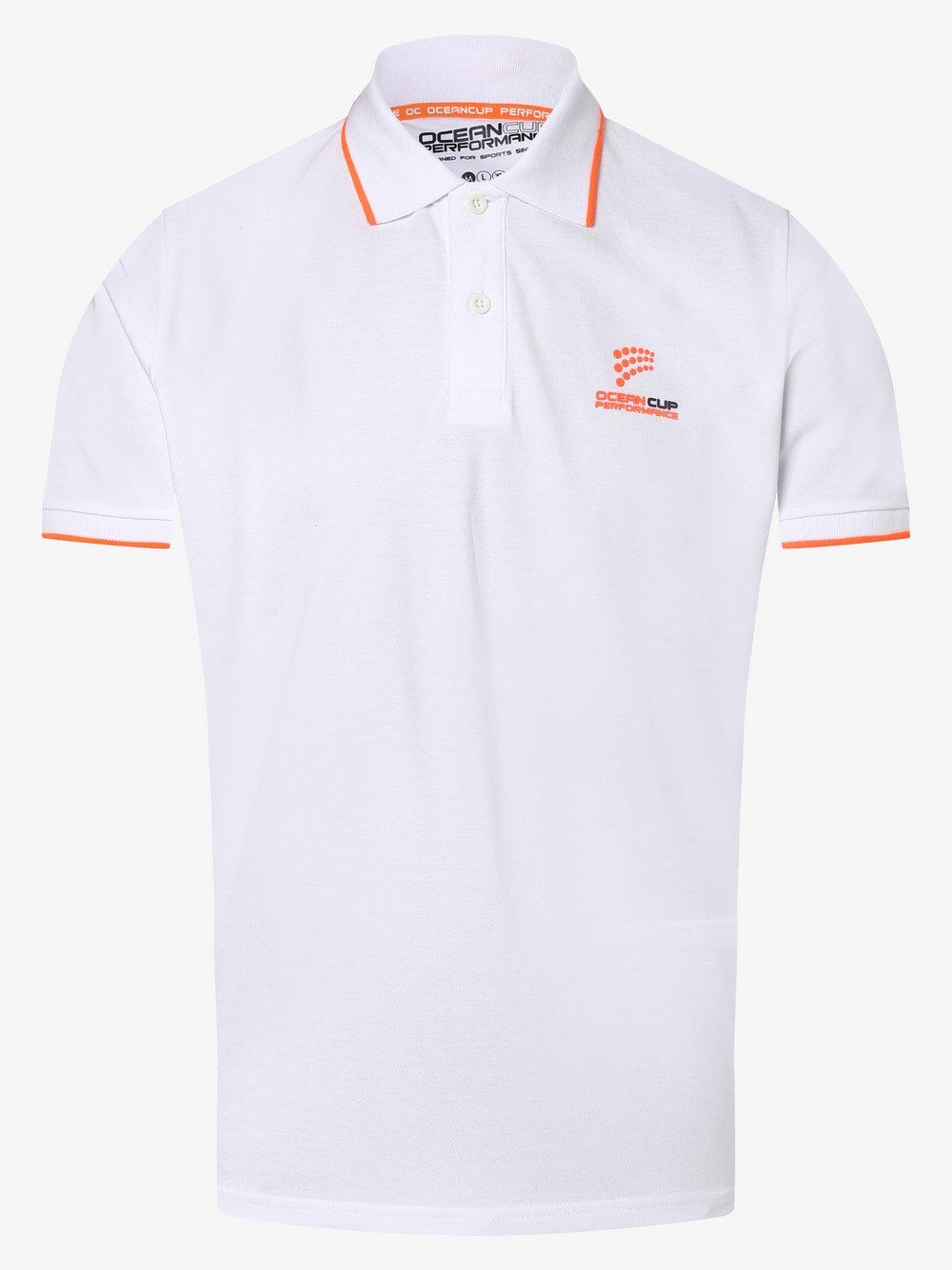 Ocean Cup - Męska koszulka polo, biały