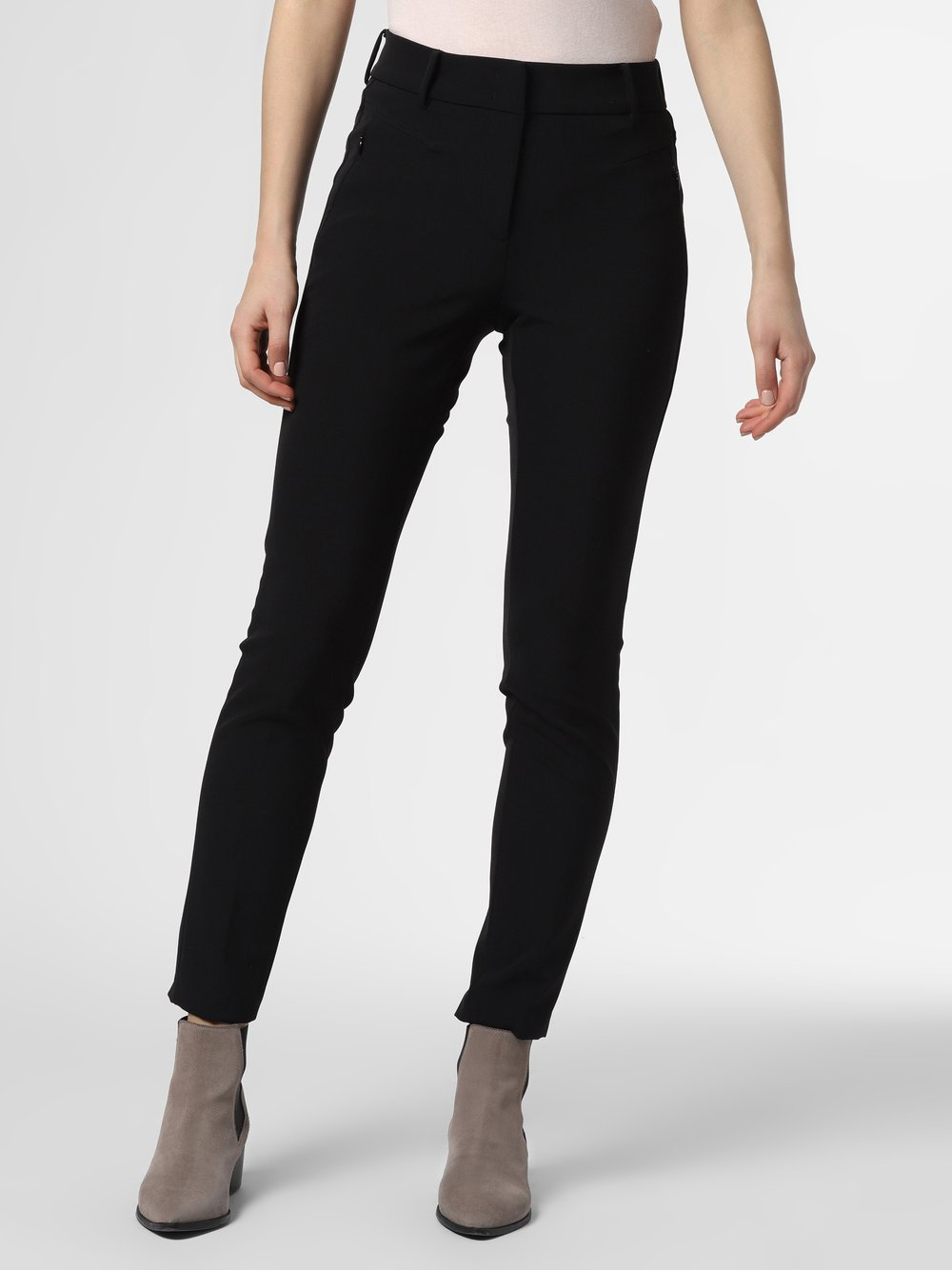 Cambio - Spodnie damskie – Sybille, czarny