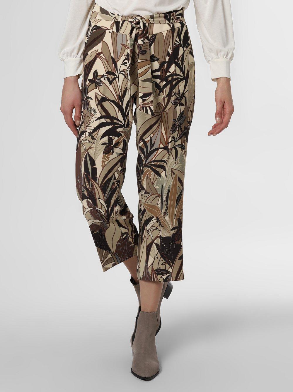 Cambio - Spodnie damskie – Claire, beżowy