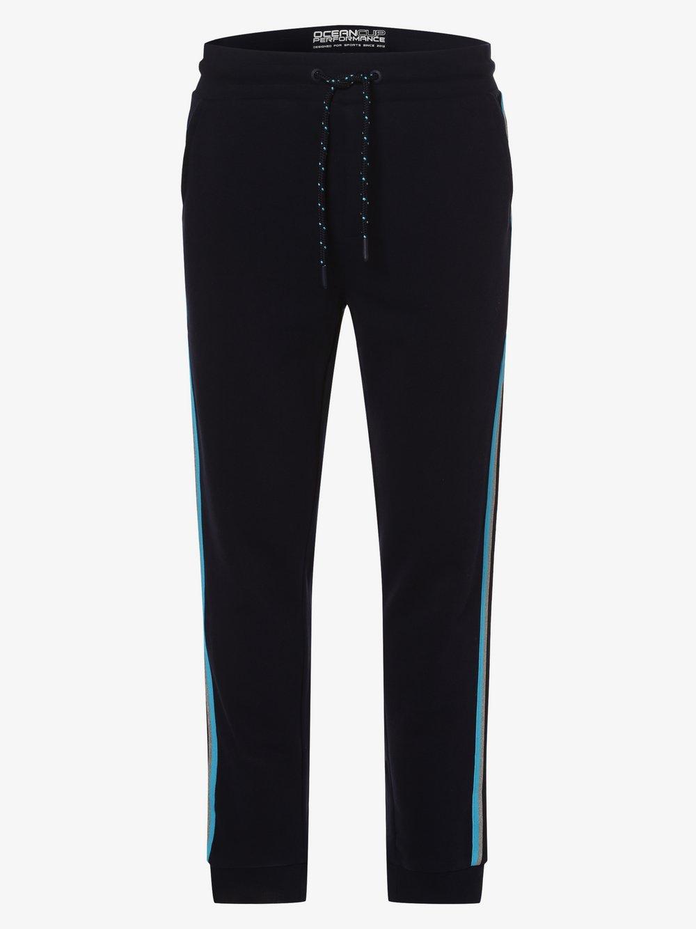 Ocean Cup - Spodnie dresowe męskie, niebieski
