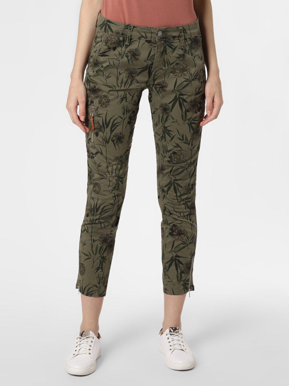 MAC - Spodnie damskie – Rich, zielony