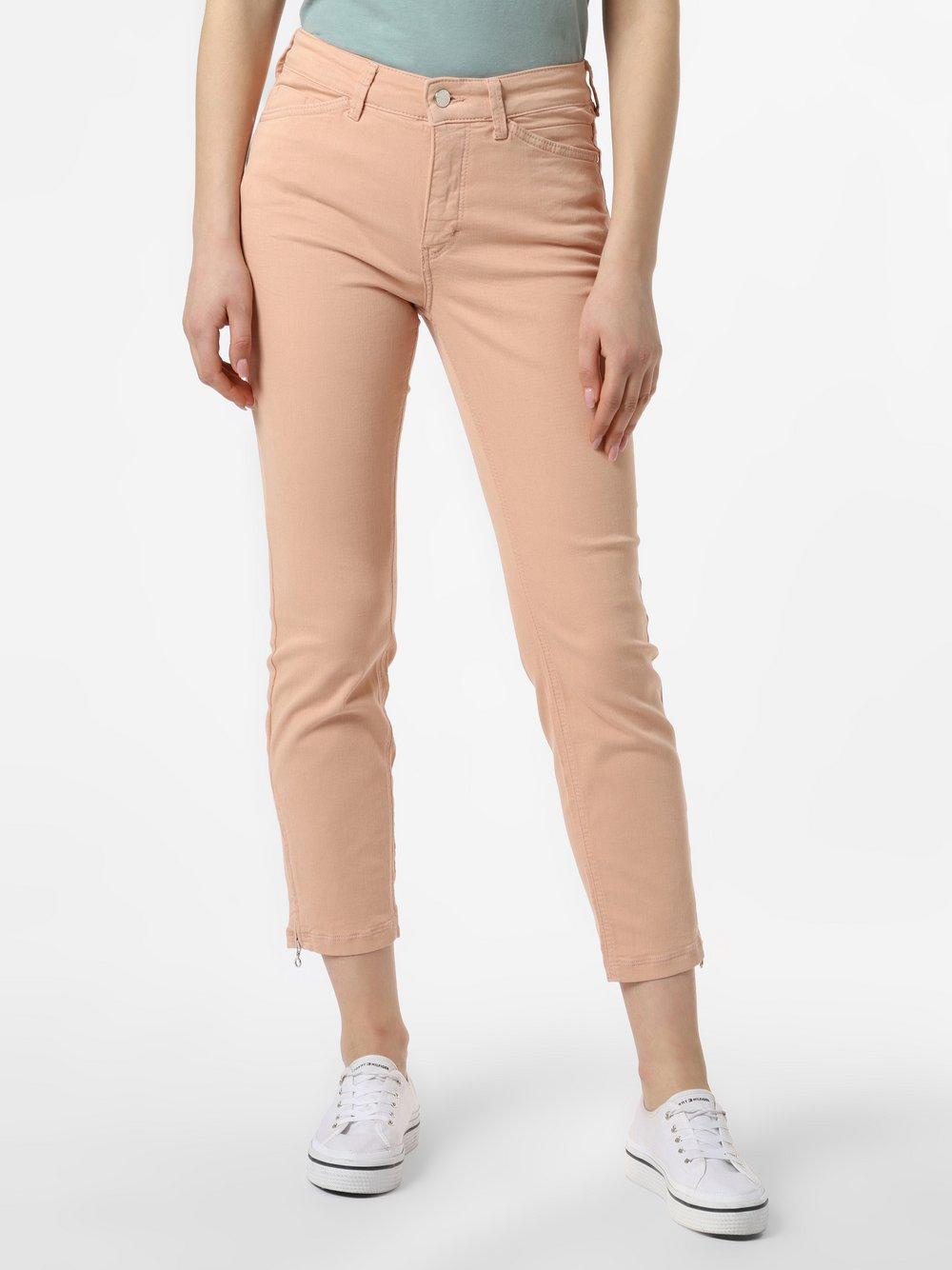 MAC - Spodnie damskie – Dream Chic, pomarańczowy